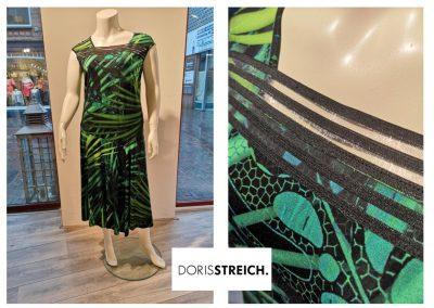 streich groene jurk